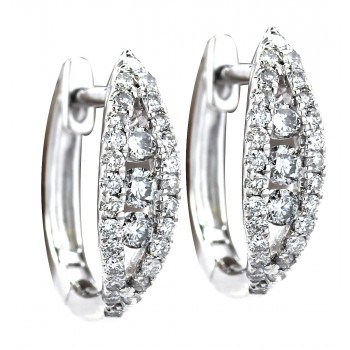 .35 Carat Diamond Earrings