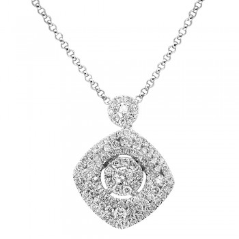 1.04 Carat Diamond Necklace