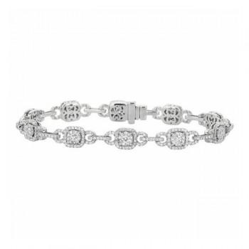 Martin Flyer Wedding Day Jewelry Bracelet BPS04SCUYQ-D