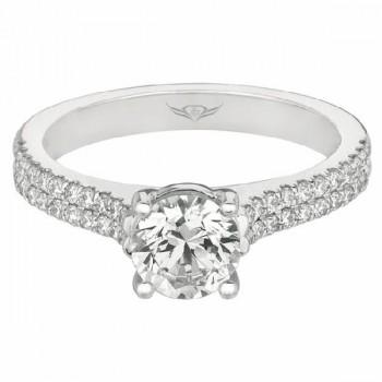 FlyerFit Halo Engagement Ring
