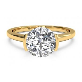 Ritani Solitaire Ring 1RZ1065CRWG-6