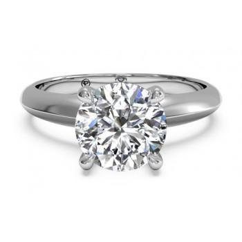 Ritani Solitaire Ring 1RZ7264CRWG-6