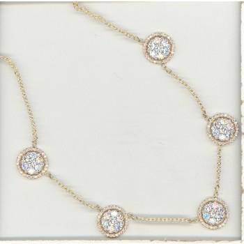 2.35 Carat Diamond Necklace