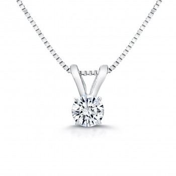 Diamond Pendant - H/SI2/0.37