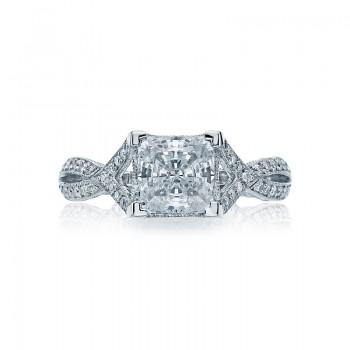 Tacori Ribbon Collection Princess Cut Ring 2565PR65