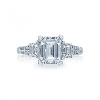 Tacori Simply Tacori Collection Solitaire Ring 2579EM85X65