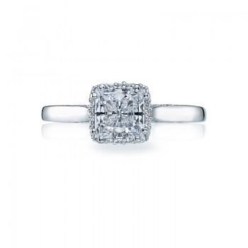Tacori Dantela Collection Princess Cut Ring 2620PRMD
