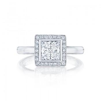 Tacori Starlit Collection Princess Cut Ring 303-25PR6