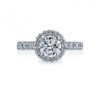 Tacori Blooming Beauties Collection Round Cut Ring 38-25RD65