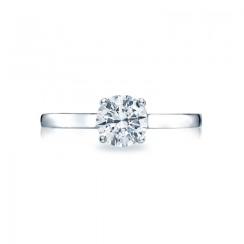 Tacori Sculpted Crescent Collection Solitaire Ring 48RD65