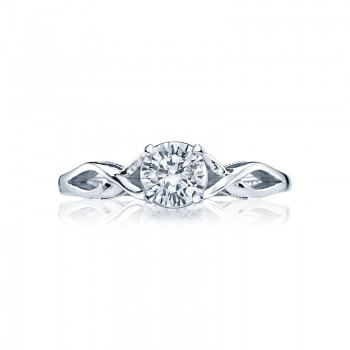 Tacori Sculpted Crescent Collection Solitaire Ring 51RD55