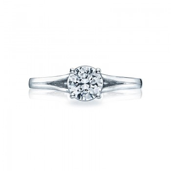 Tacori Sculpted Crescent Collection Solitaire Ring 53RD6