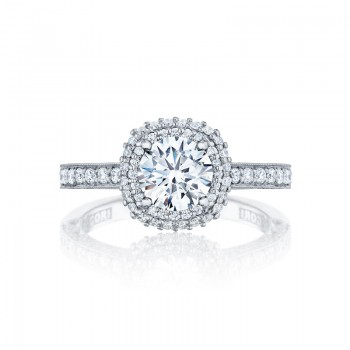 Tacori Blooming Beauties Collection Engagement Ring HT2522CU65