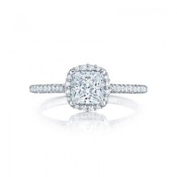 Tacori Petite Crescent Collection Princess Ring HT254715PR55
