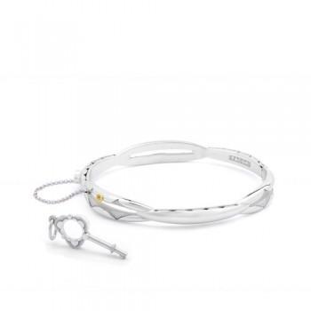 Tacori Promise Bracelet Oval Silver