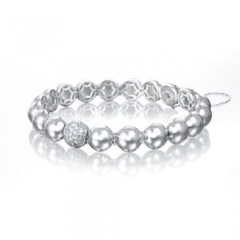 Tacori Sonoma Mist Silver Dew Drops Pave Bracelet