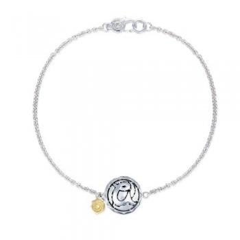 Tacori Love Letters Monogram Chain Bracelet