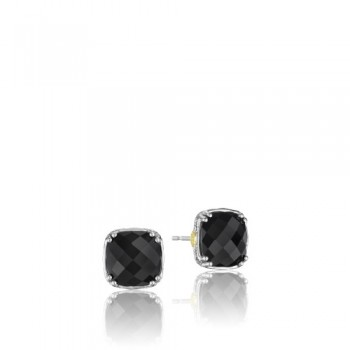 Tacori Classic Rock Cushion Cut Gem Stud