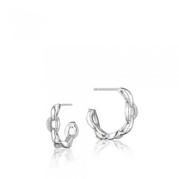 Tacori The Ivy Lane Bold Mini Crescent Curve Hoop Earring