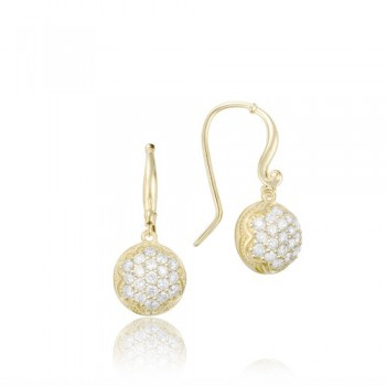 Tacori Sonoma Mist Gold Dew Drop Earring