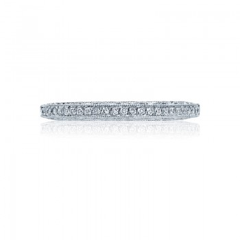 Tacori Classic Crescent Collection Platinum Band 2616B12X