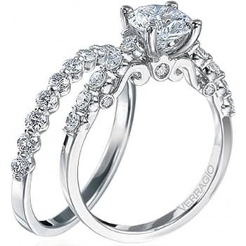 Verragio Round Brilliant Cut Diamond Engagement Ring