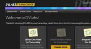 DV Labs Transcoder Dashboard