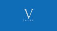V Salon branding