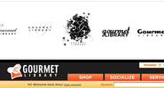Gourmet Library branding