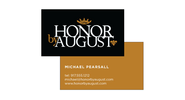 Honor By August Business Cards