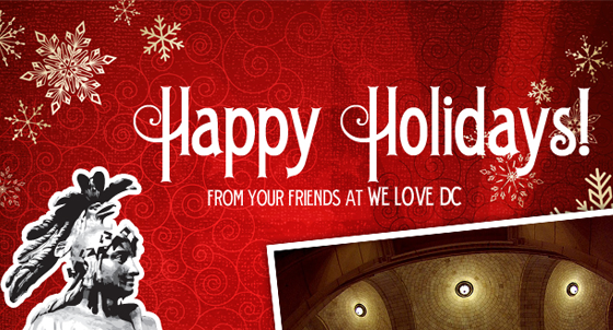 WeLoveDC 2009 Holiday Card