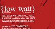 Lowwatt Recording Business Cards