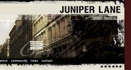 Juniper Lane Website (2003)