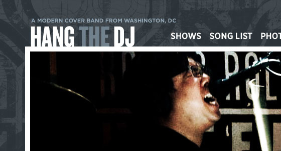 Hang The DJ Website