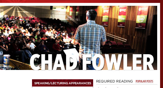 Chad Fowler Website (2011)