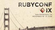 RubyConf IX Program