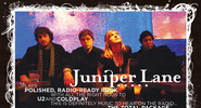 Juniper Lane Promo Card for Coldplay Show