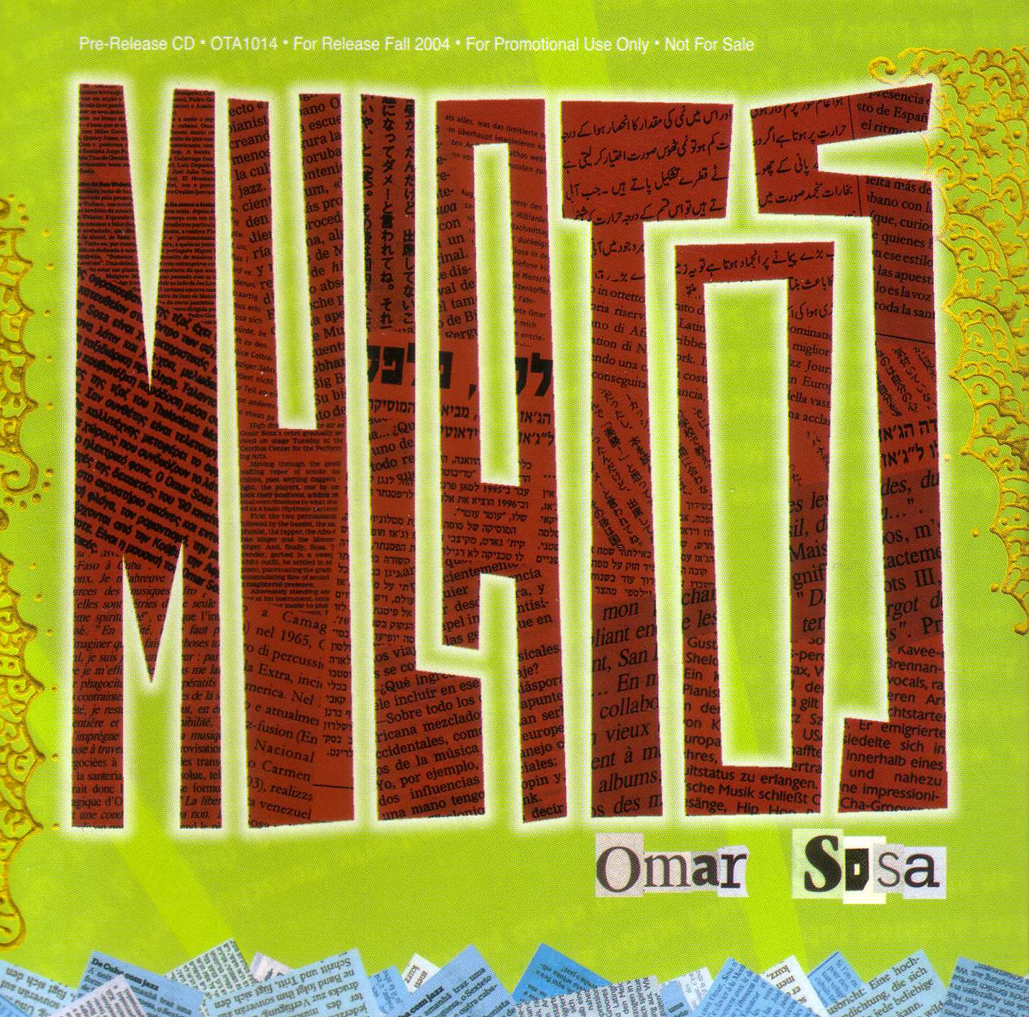 Omar Sosa - Mulatos