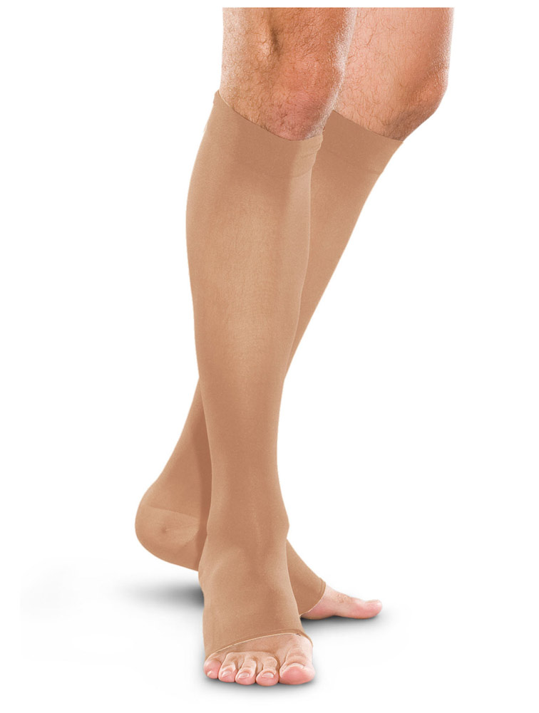 20-30Hg Compression Knee-High Open Toe