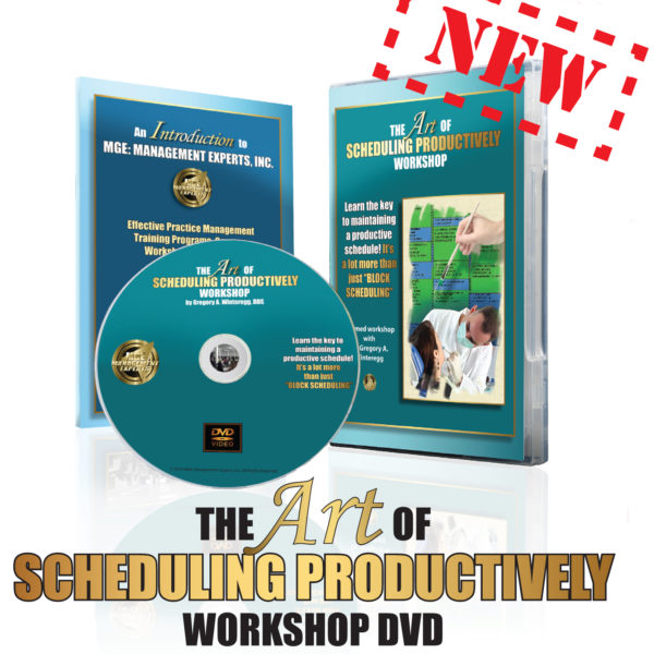 The Art of Scheduling Productively Workshop DVD – $199 – Buy Now!