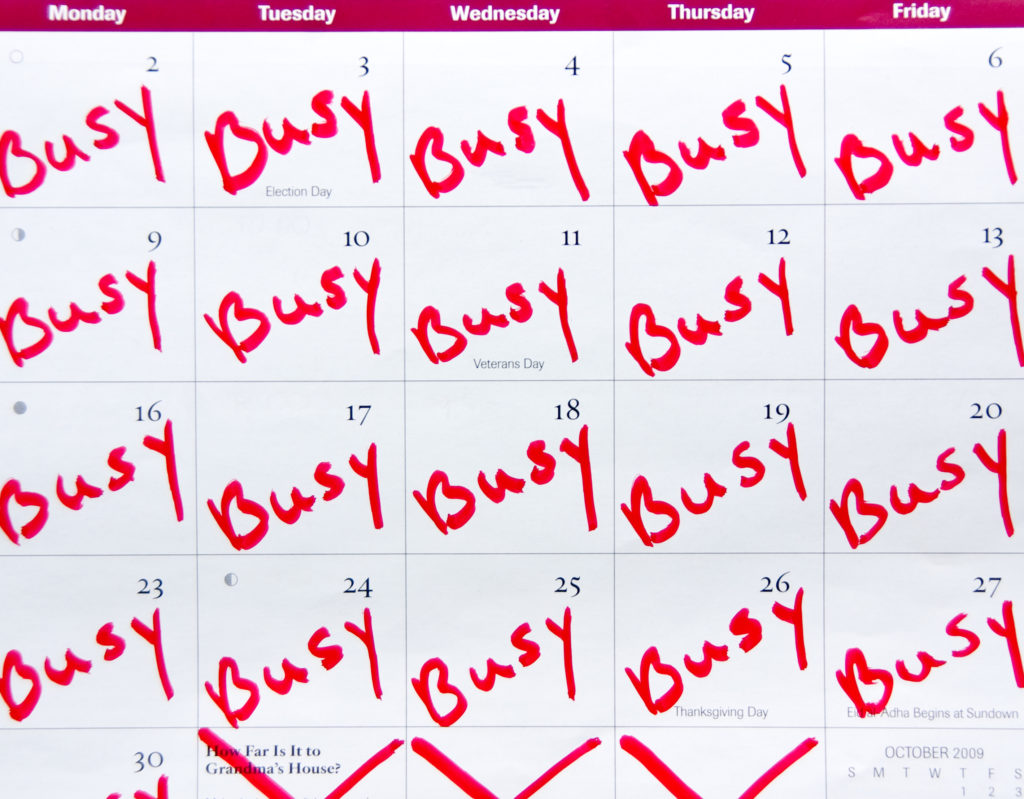 "A ""Full"" Schedule is Not Always a Productive Schedule - MGE Blog"