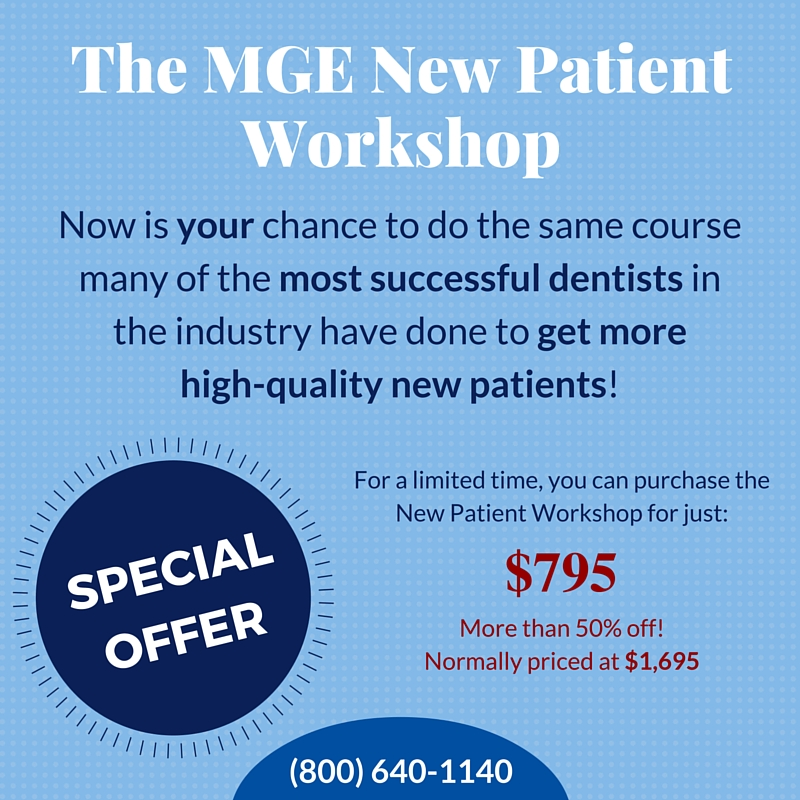 MGE New Patient Workshop - New Patient Problems: How I've Fixed Them - The MGE Blog