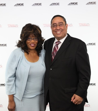 Congresswoman Brown and Luis Colon, CEO of MGE Management Experts