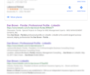 Dan Brown LinkedIn
