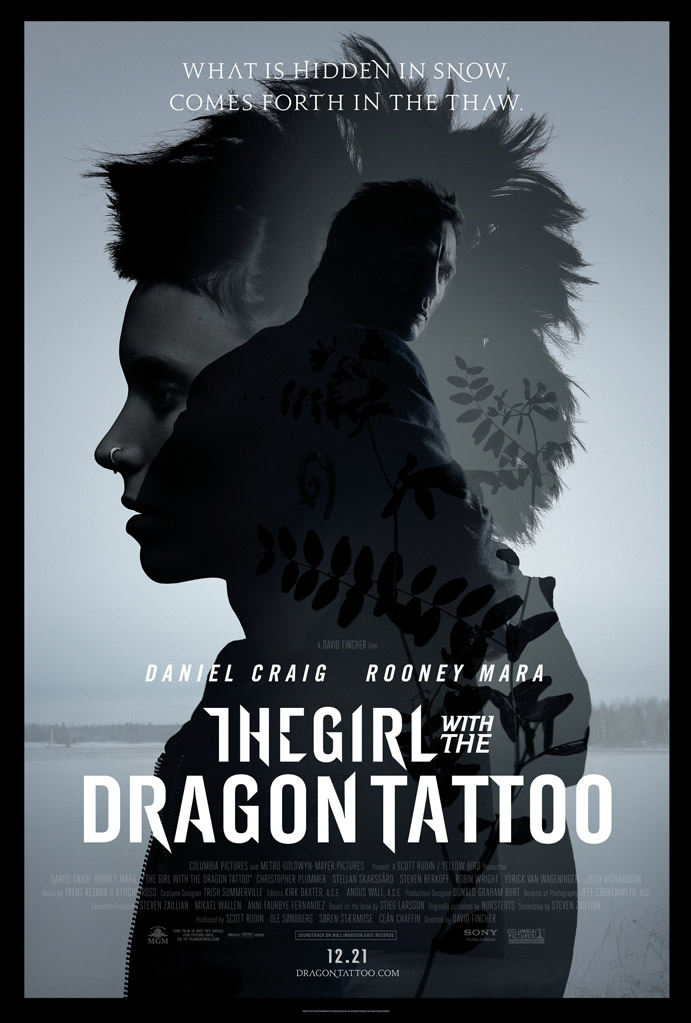 "The Girl with the Dragon Tattoo"" Lisbeth Salander: Hold still. I ... The Girl With The Dragon Tattoo Poster"