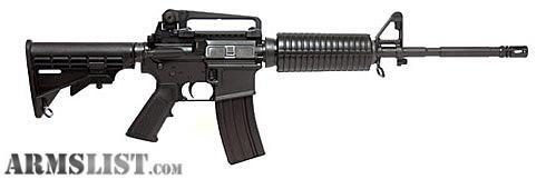 armslist for sale/trade: dpms ap4 223/5.56 m 4 carbine