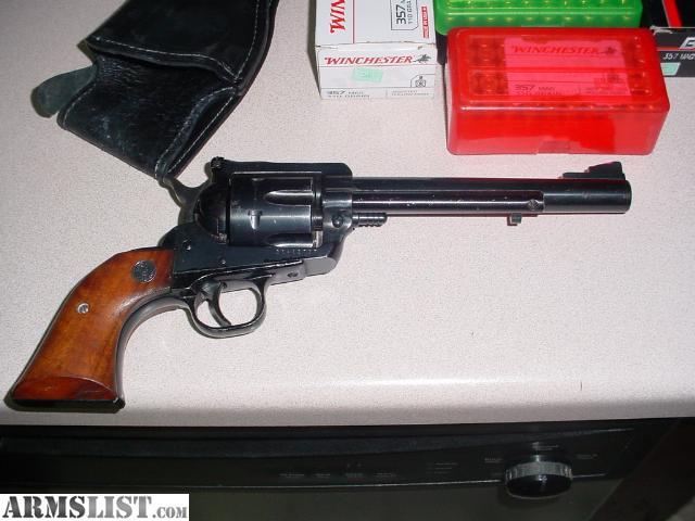 Holster and buscadaro gunbelt - ruger blackhawk 38 caliber/357, 4 barrel, right hand, 40 waist
