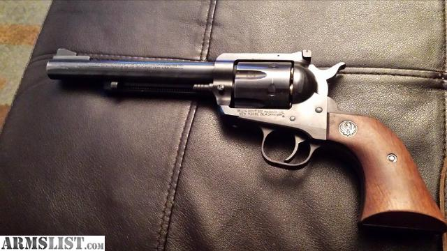Ruger blackhawk 357 magnum with 65 inch barrel and leather holster