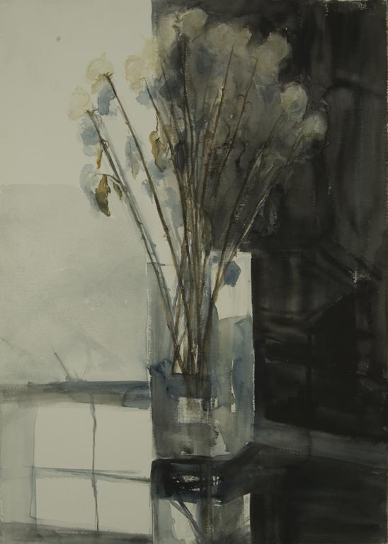 Black and white (roses) web image