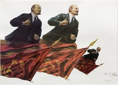 828vyacheslav akhunov lenin art 1977%20photo%20m%20hkaclinckx  1